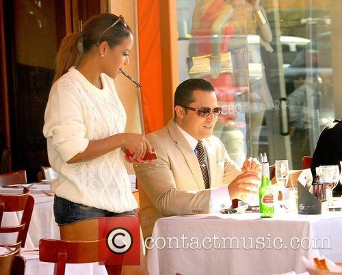 Christina Milian and Oskar Rivera 2