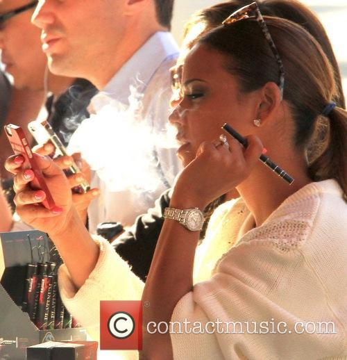 Christina Milian and Oskar Rivera 8