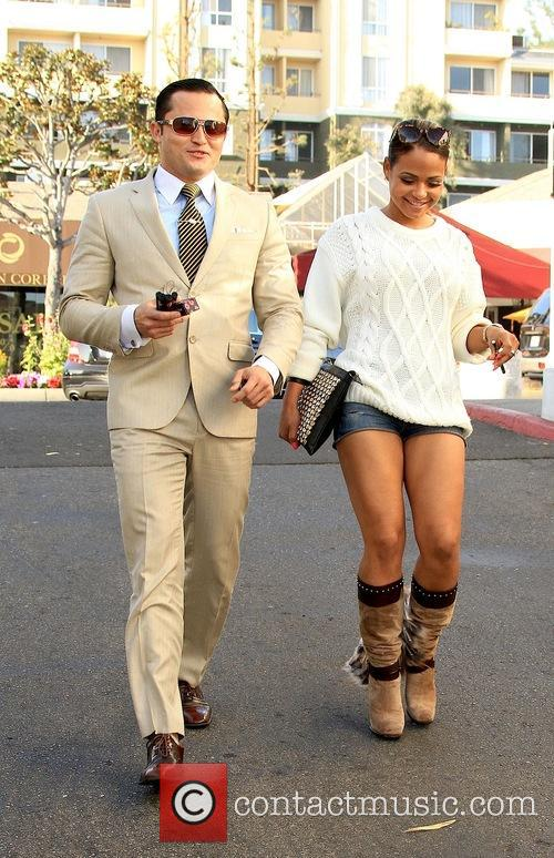 Christina Milian and Oskar Rivera 11