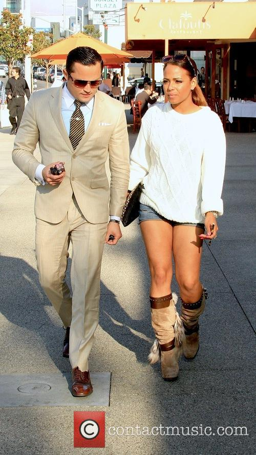 Christina Milian and Oskar Rivera 1