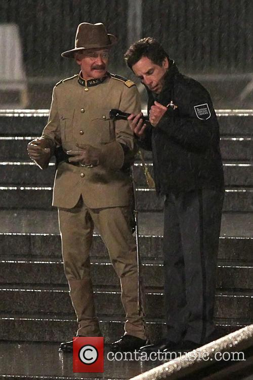 Ben Stiller and Robin Williams 7