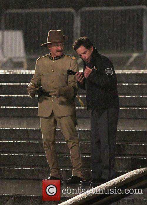 Ben Stiller and Robin Williams 9