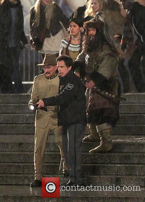 Ben Stiller and Robin Williams 12
