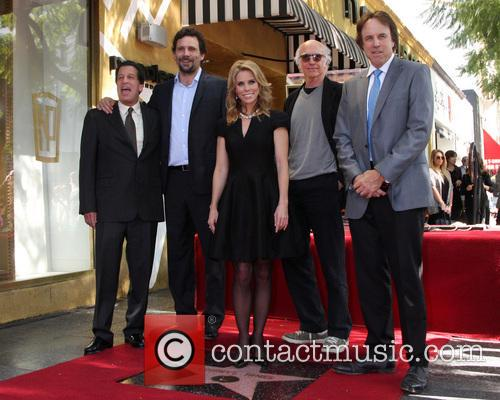 Cheryl Hines, Peter Roth, Jeremy Sisto, Larry David and Kevin Nealon 2