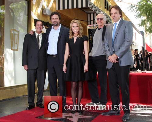 Cheryl Hines, Peter Roth, Jeremy Sisto, Larry David and Kevin Nealon 3