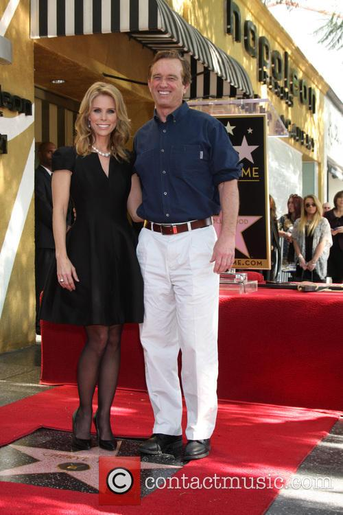 Cheryl Hines and Robert Kennedy Jr 7