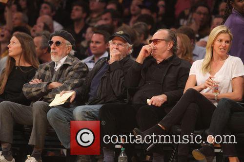 Jack Nicholson, Bruce Dern, Staples Center