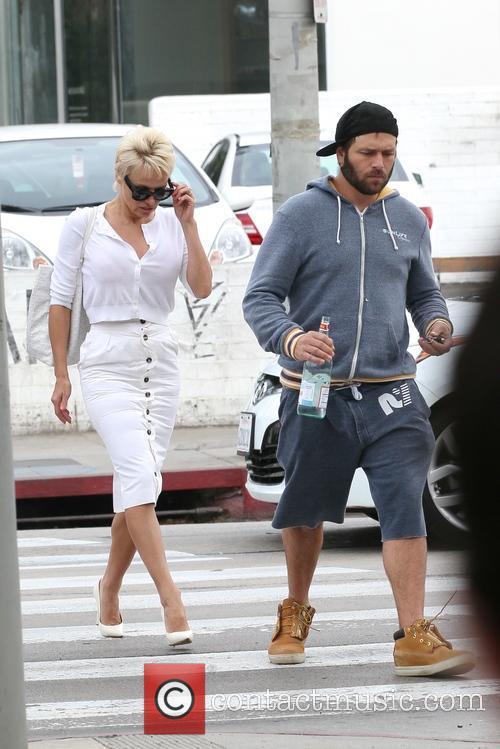 Pamela Anderson and Rick Salomon 36