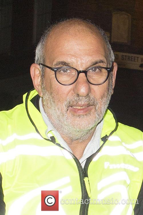 Alan Yentob Cycling Through Soho