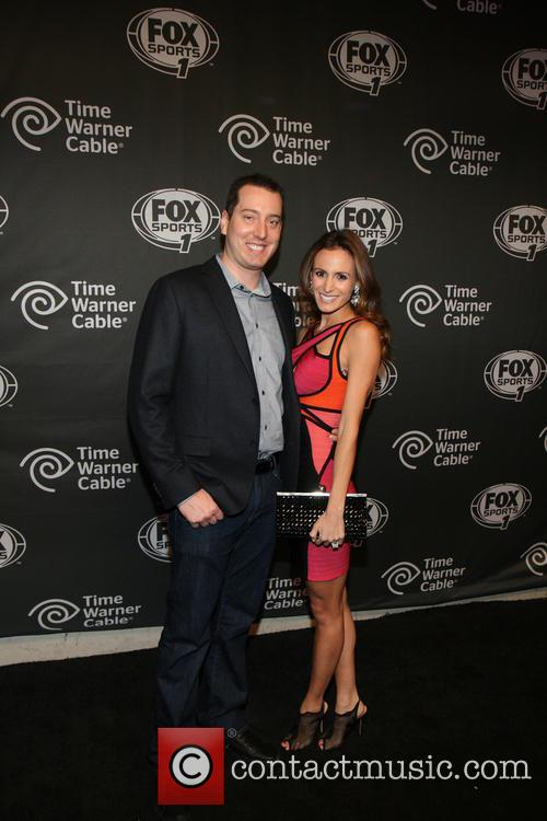 Kyle Busch and Samantha Busch 4