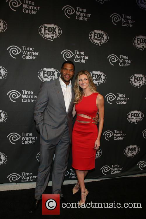 Michael Strahan and Erin Andrews 1