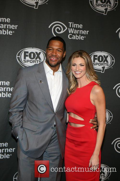 Michael Strahan and Erin Andrews 5