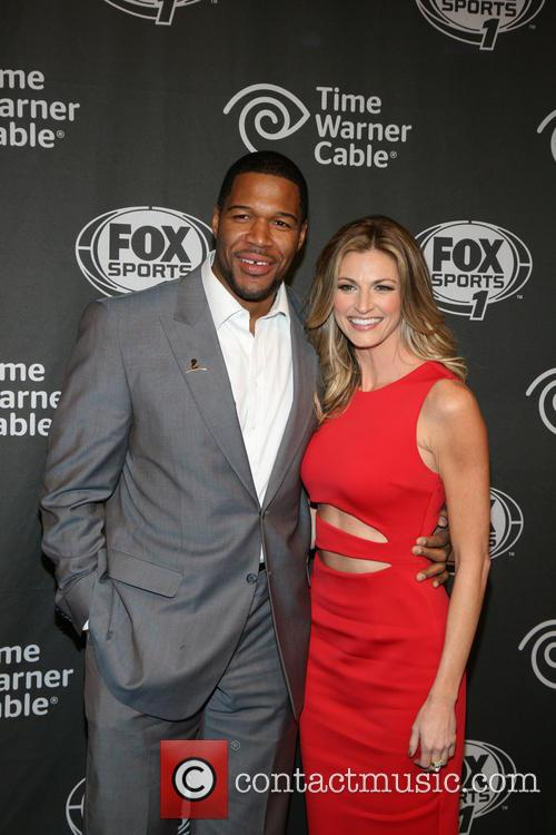 Michael Strahan and Erin Andrews 6