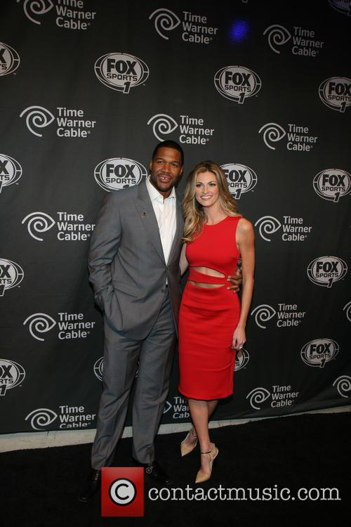 Michael Strahan and Erin Andrews 9