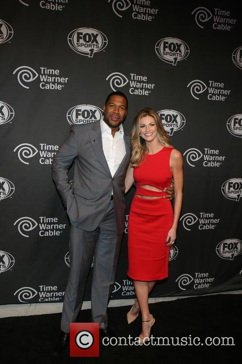 Michael Strahan and Erin Andrews 10