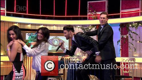 Rylan Clarke, Lee Ryan and Jasmine Waltz 1