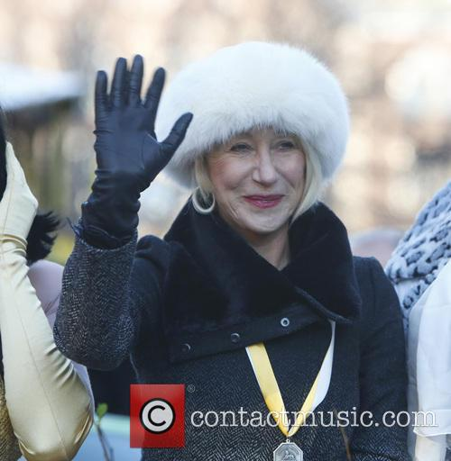 Helen Mirren at Hasty Pudding Woman of the Year