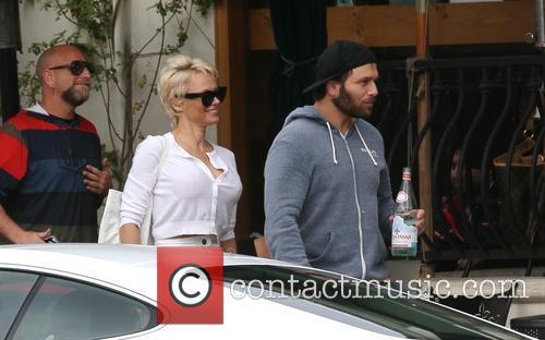 Pamela Anderson and Rick Salomon 3