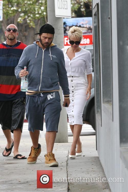 Pamela Anderson and Rick Salomon 8