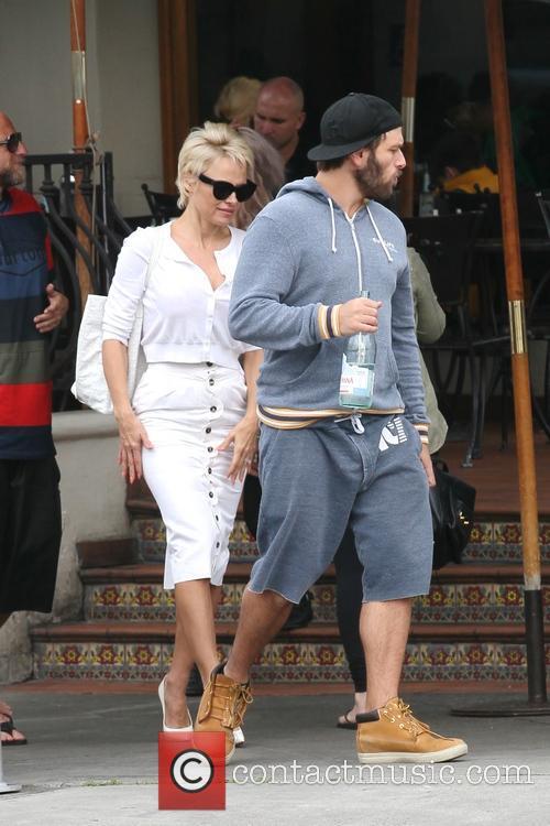 Pamela Anderson and Rick Salomon 9