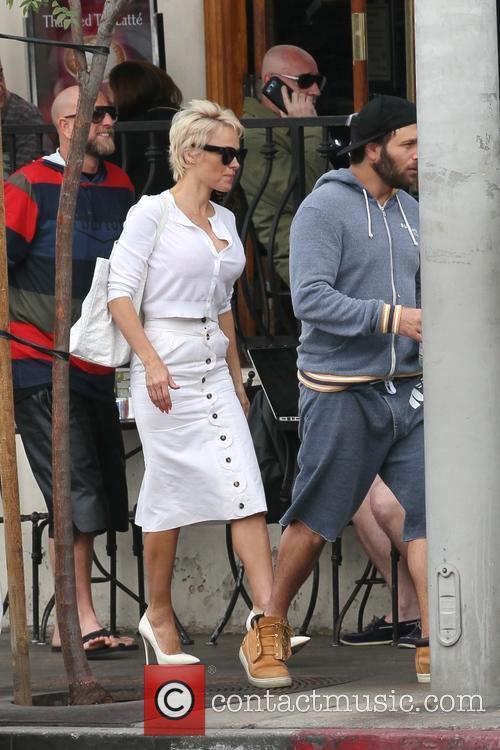 Pamela Anderson and Rick Salomon 11