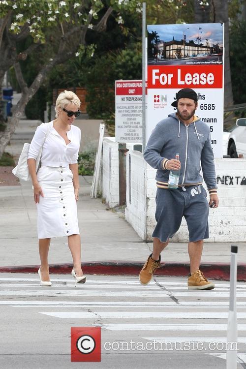 Pamela Anderson and Rick Salomon 15