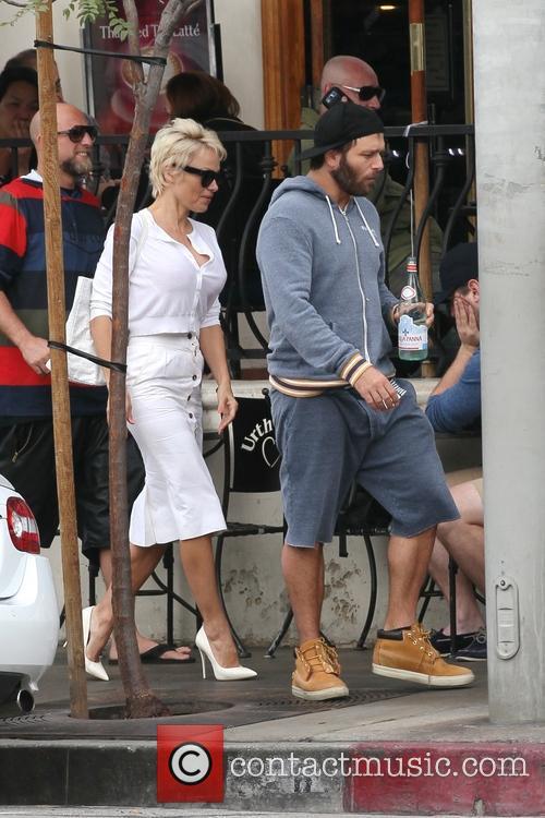 Pamela Anderson and Rick Salomon 23