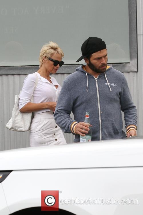 Pamela Anderson and Rick Salomon 33