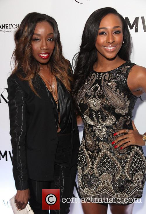 Estelle and Alexandra Burke 2