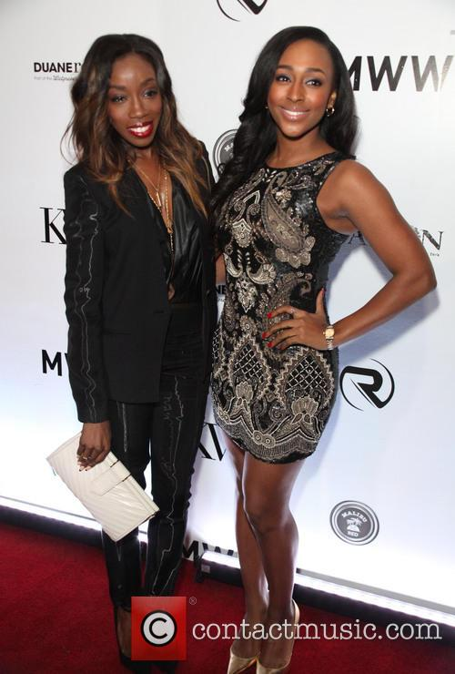 Estelle and Alexandra Burke 3
