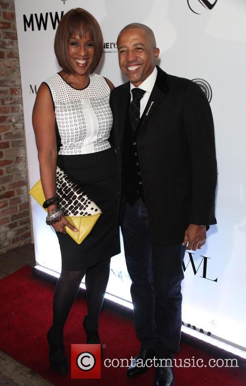 Gayle King and Kevin Liles 4