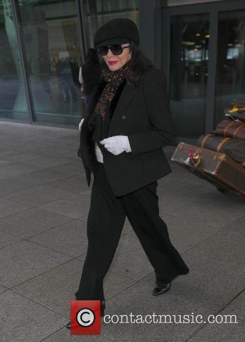 Joan Collins airport