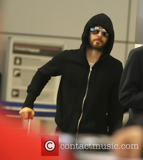 Jared Leto arrives at LAX