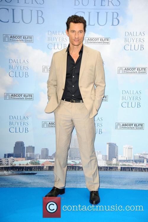Photocall with Matthew McConaughey for his latest movie...