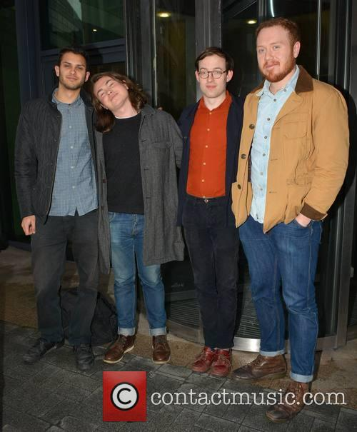 Bombay Bicycle Club, Suren De Saram, Jack Steadman, Jamie Maccoll and Ed Nash 2