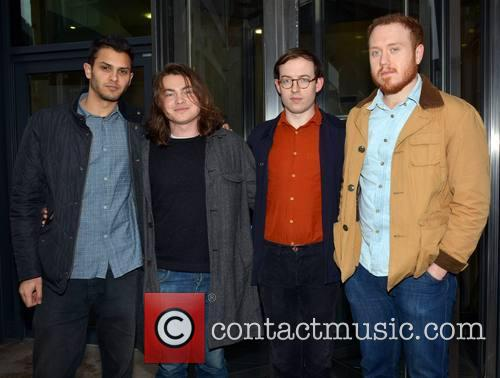 Bombay Bicycle Club at the Today FM studios