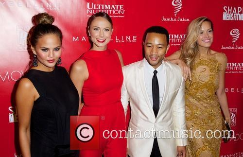 Chrissy Teigen, John Legend, Stacy Keibler and And Petra Nemcova 2