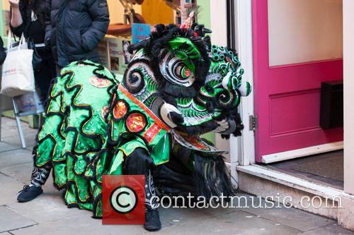 Chinese New Year celebrations begin in London's China...