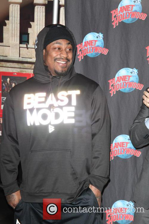 Planet  Hollywood NY Marshawn Lynch