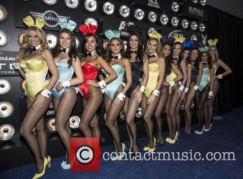 Playboy party held at the Bud Light Lounge...