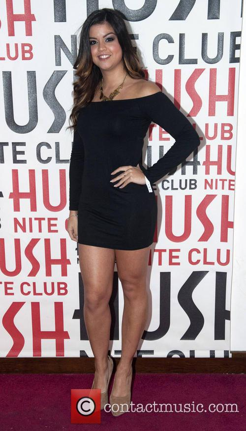 Celebrities visit Hush nightclub