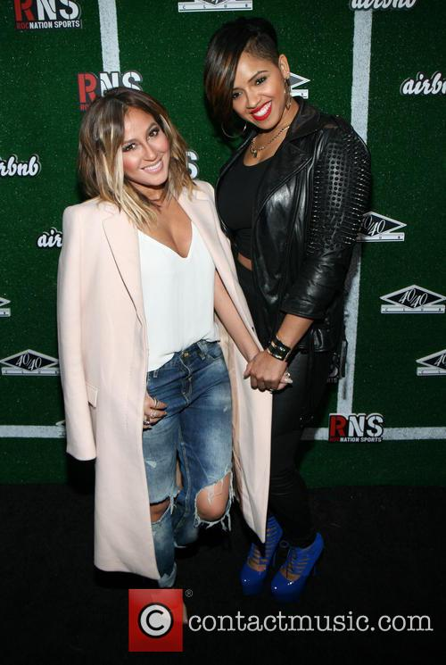 Adrienne Bailon and Ravaughn Brown 5