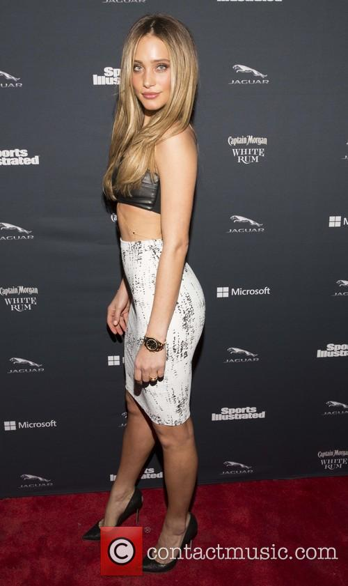 hannah davis sports illustrated super bowl party 4049758