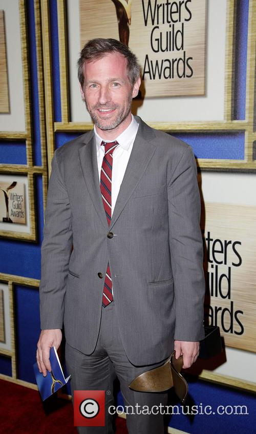 Spike Jonze at the Writer's Guild Awards where he won Best Orignal Screenplay for 'Her'.