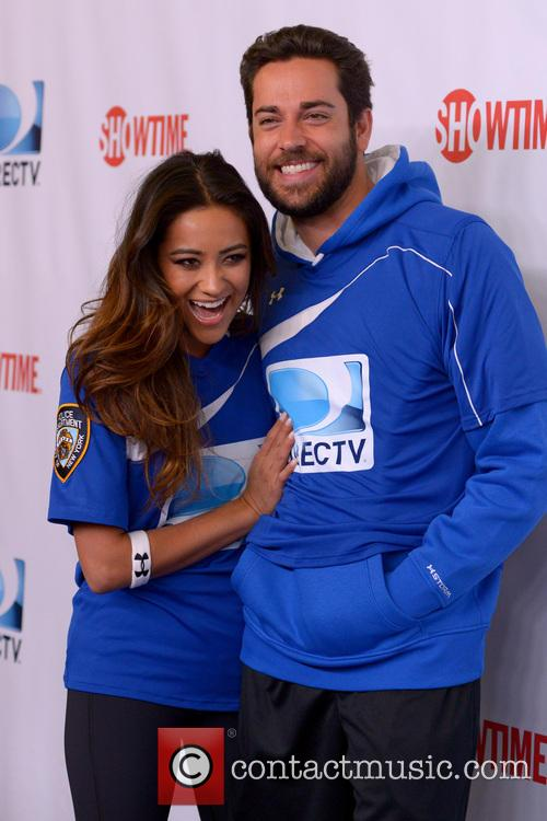 Shay Mitchell and Zachary Levi 6