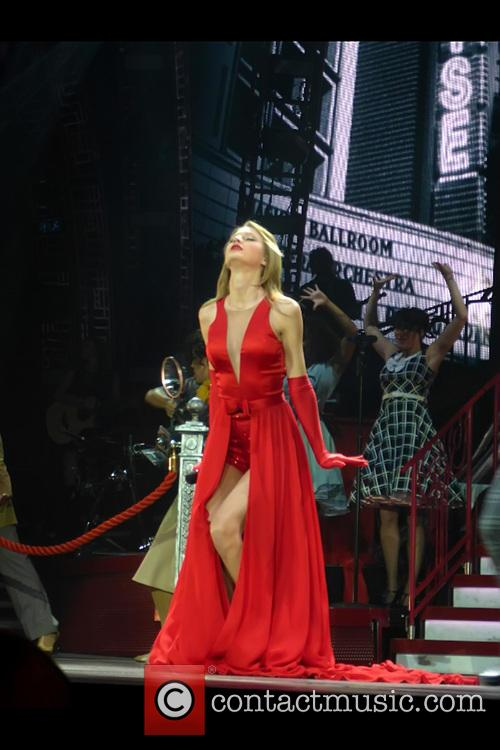 Taylor Swift performs live in London