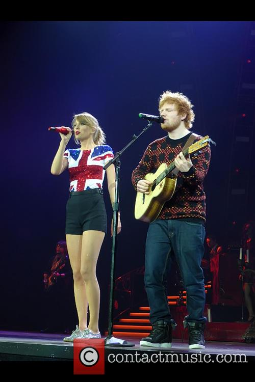 Taylor Swift, Ed Sheeran, O2