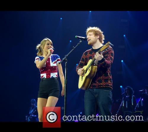 Taylor Swift and Ed Sheeran 3
