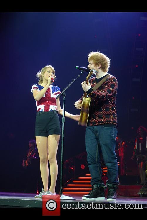 Taylor Swift and Ed Sheeran 4