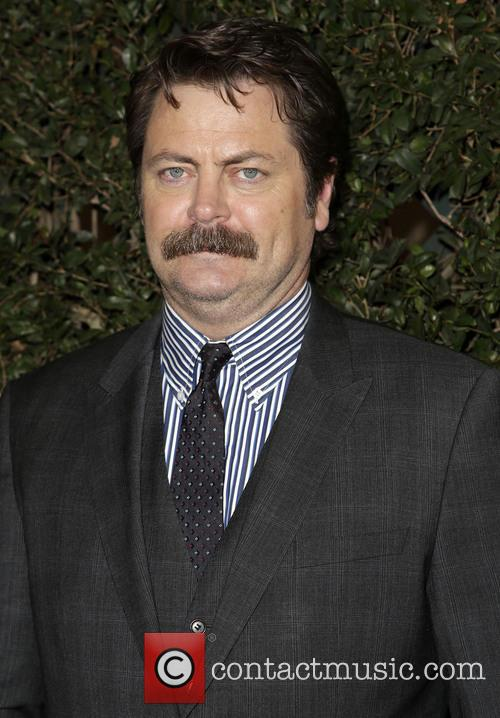 Nick Offerman, JW Marriott Los Angeles L.A. LIVE